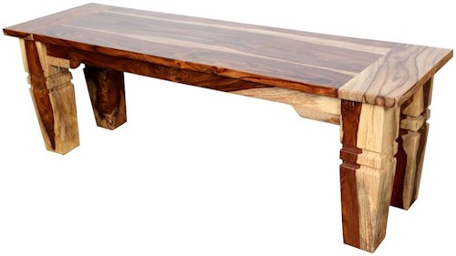 Porter International Designs (Clackamas Store Only) Tahoe Accent Bench