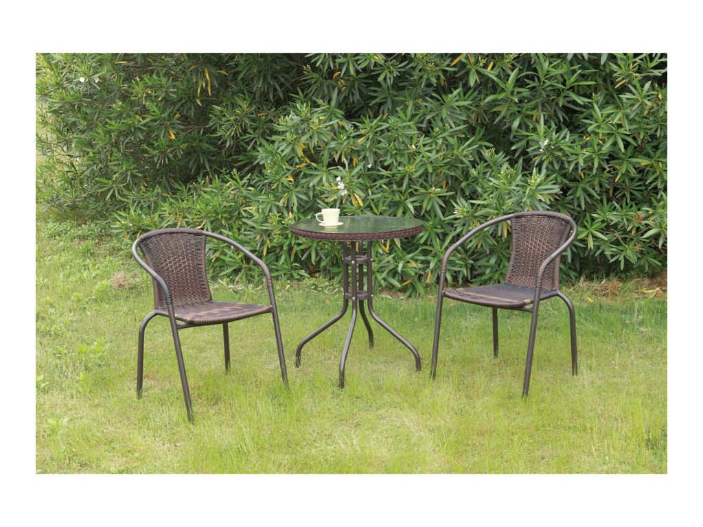 Poundex 101Outdoor Bistro Set