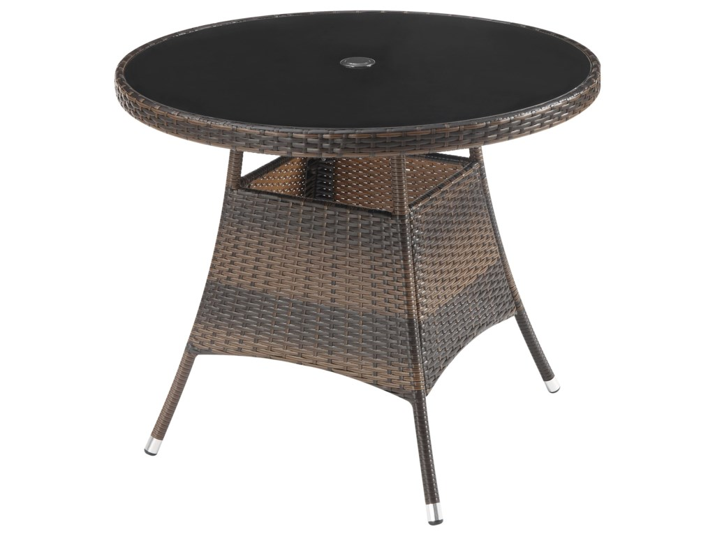 Poundex 191Outdoor Dining Table