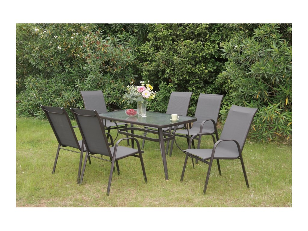 Poundex 205Outdoor Dining Chair
