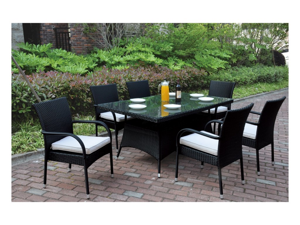 Poundex 218Outdoor Dining Set