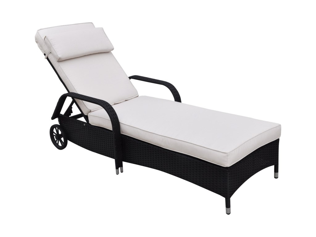 Poundex 429Adjustable Lounger