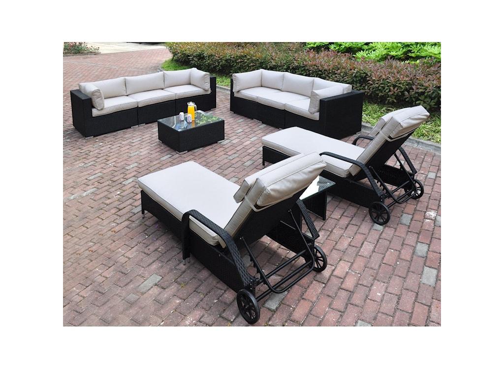 Poundex 429Outdoor Lounge Set