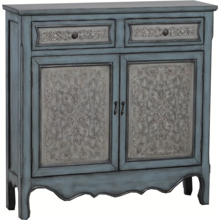 Antique Blue & White Console