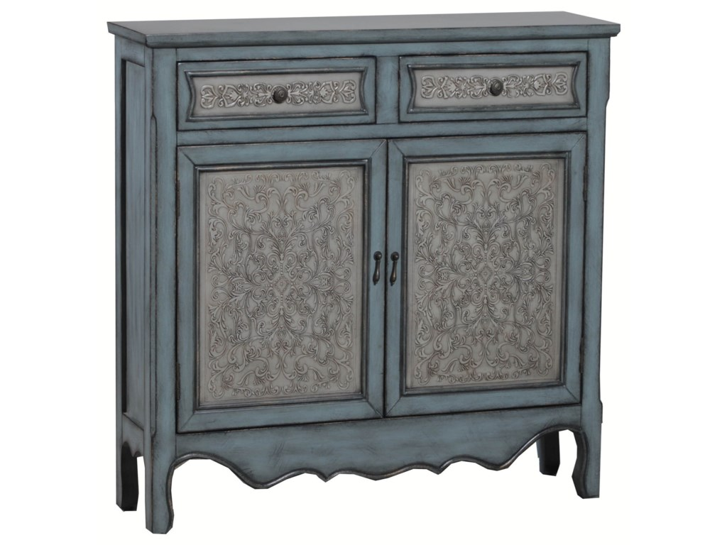 Powell Accent FurnitureAntique Blue & White Console