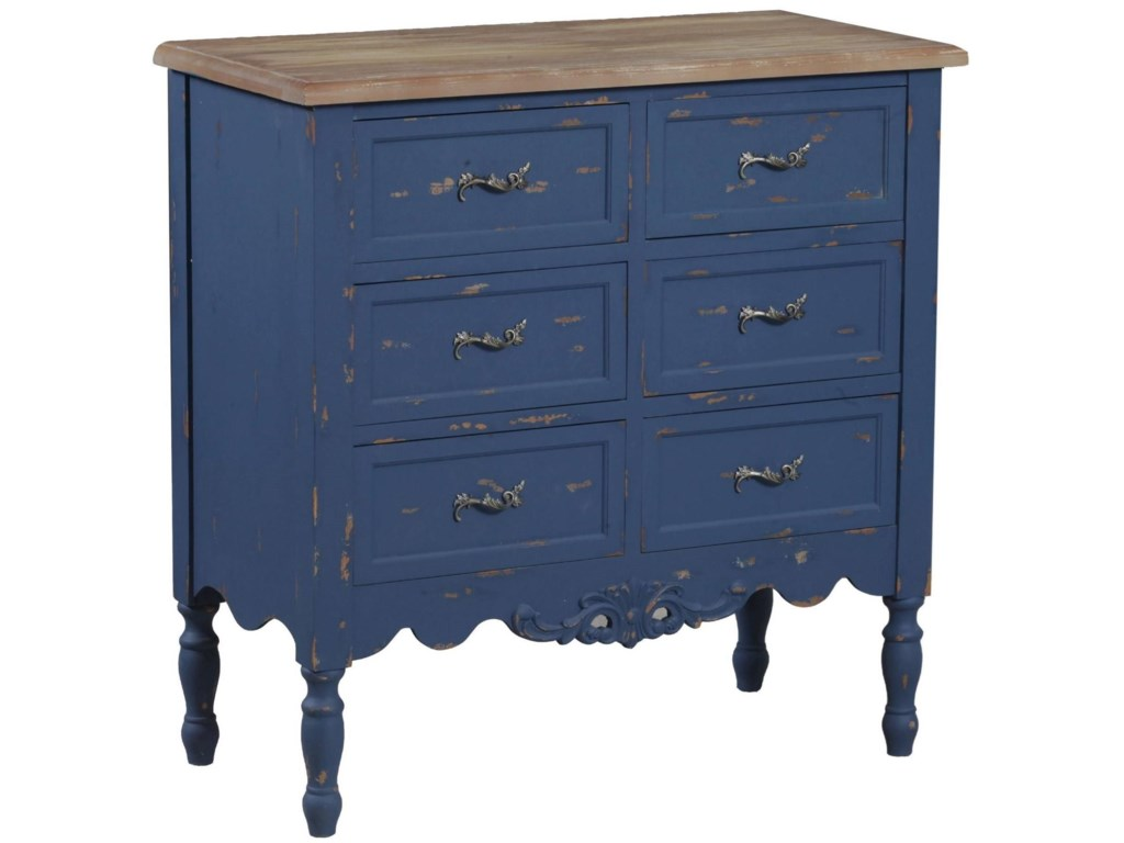 Powell Accent FurniturePiper Blue Hall Chest