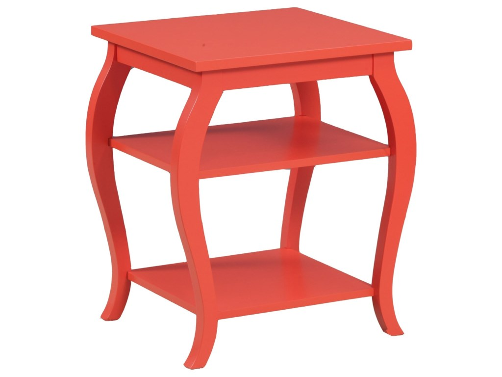 Powell Accent FurniturePanorama Orange Table