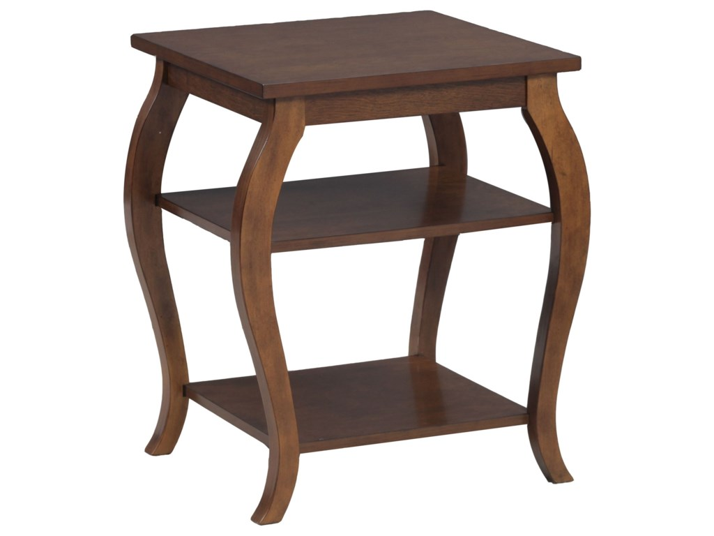 Powell Accent Furniture-637629934Panorama Hazelnut Table