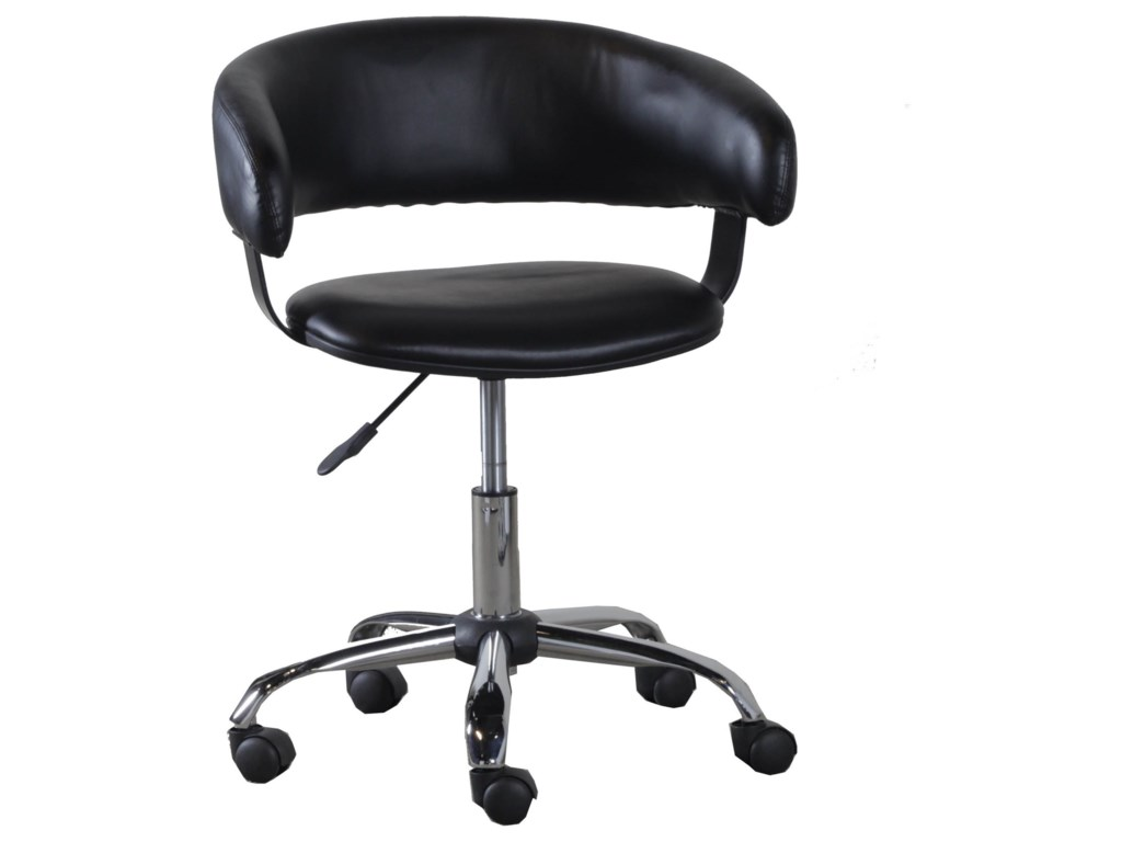Powell Accent FurnitureBlack Gas Lift Desk Chair