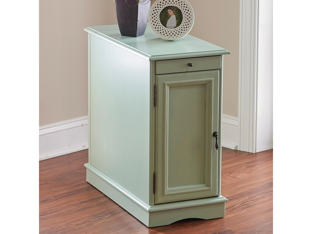 Powell Accent Furniture Butler Aqua Accent Table