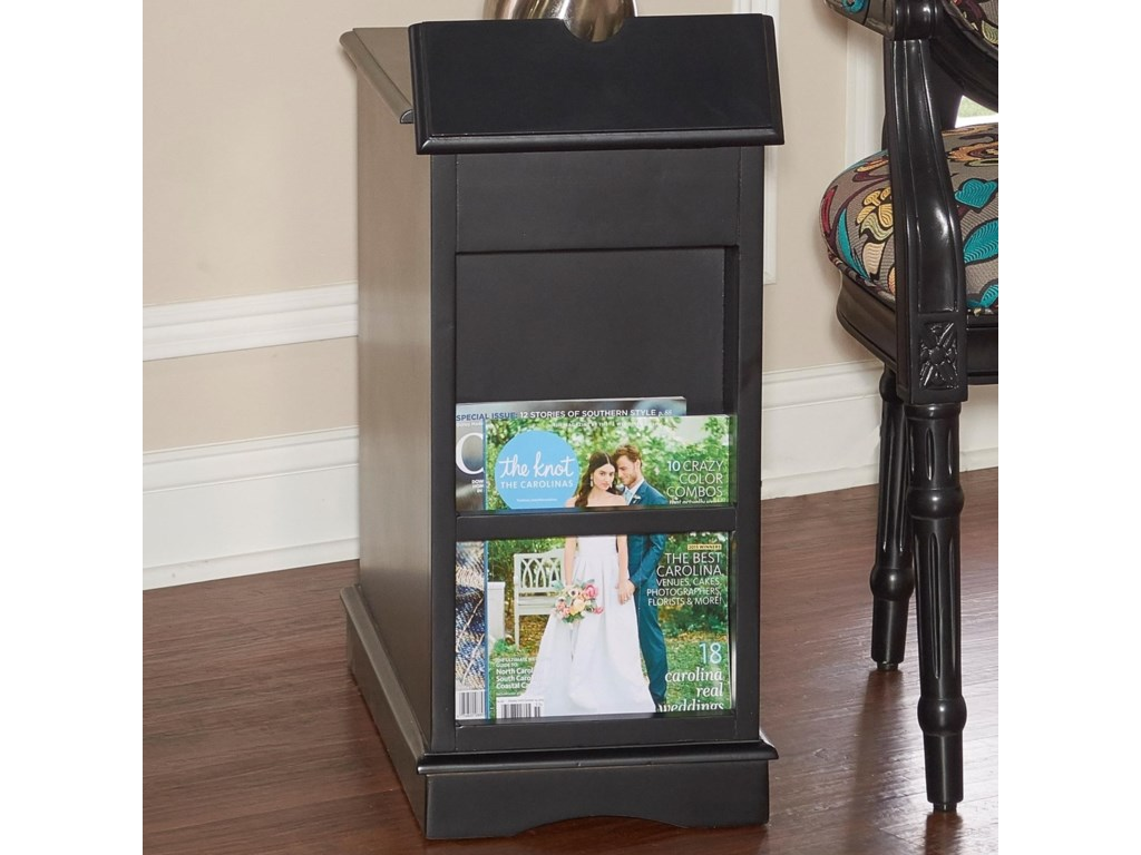 Powell Accent FurnitureButler Black Accent Table