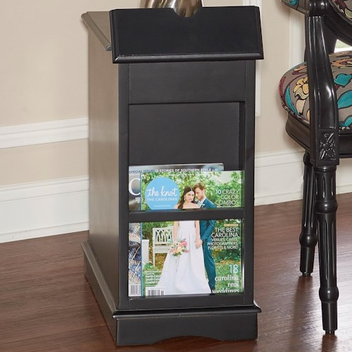 Powell Accent Furniture Butler Black Accent Table