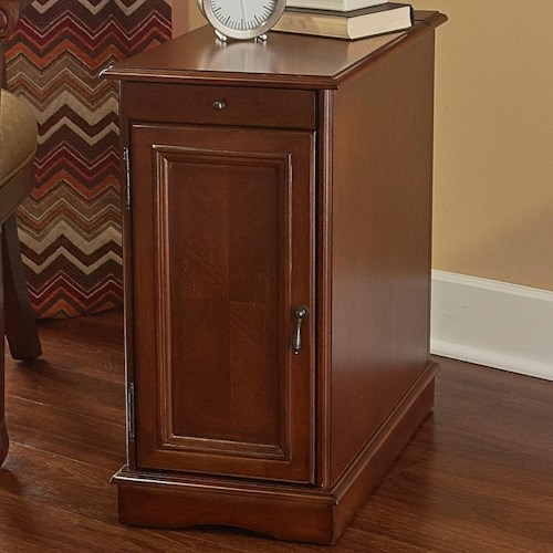 Powell Accent Furniture Butler Hazelnut Accent Table