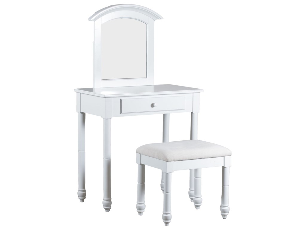 Powell Accent FurnitureVanity with Stool