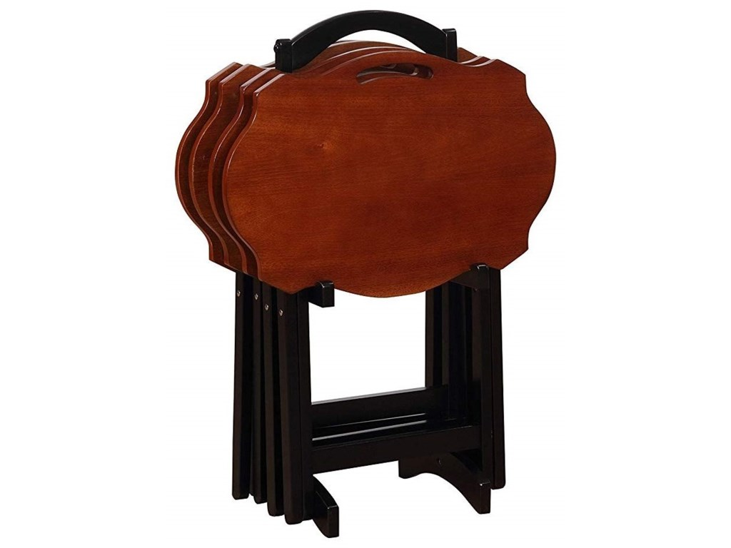 Powell Accent FurnitureSerpentine Black Tray Table