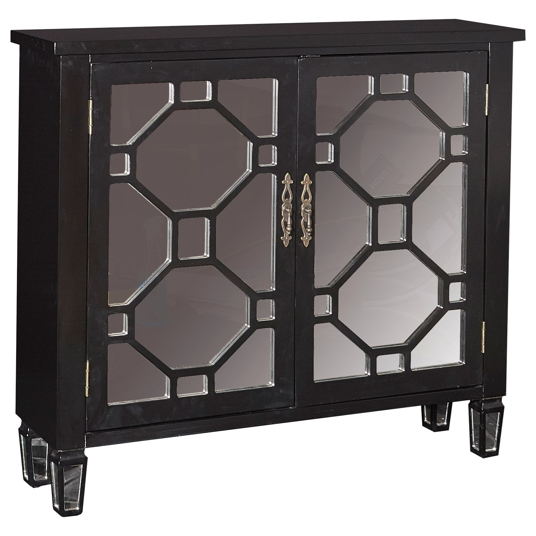 Powell Accent FurnitureHex 2 Door Console ...