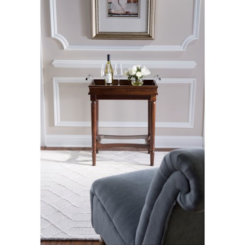 Powell Accent Furniture Masterpiece Mia Serving Tray Table