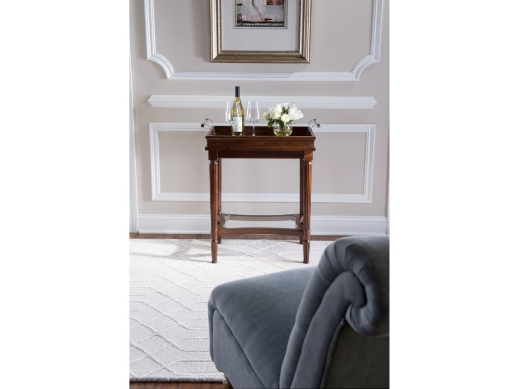 Powell Accent FurnitureMasterpiece Mia Cherry Serving Tray Table