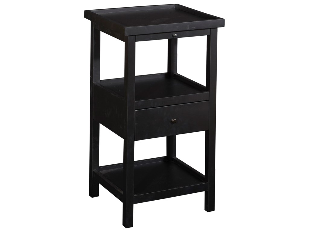 Powell Accent Furniture Palmer Table With Shelf Westrich Furniture