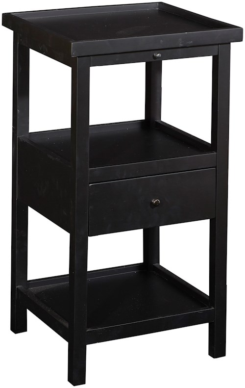 Powell Accent Furniture Palmer Table with Shelf