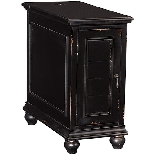 Powell Accent Furniture Olsen Shutter Cabinet