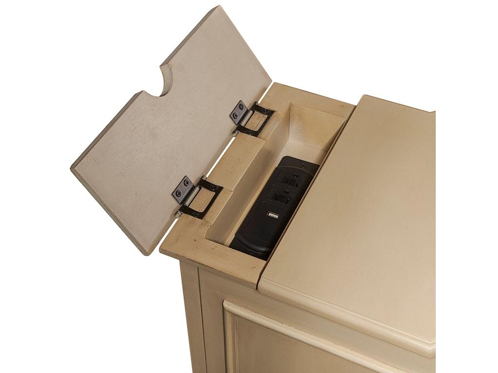Powell Accent FurnitureOlsen Shutter Cabinet
