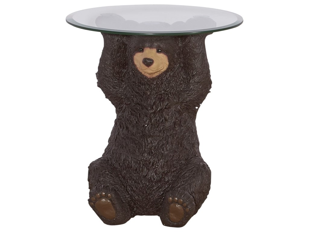 Powell Accent FurnitureBarney Bear Side Table