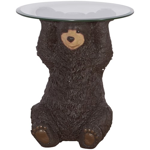 Powell Accent Furniture Barney Bear Side Table