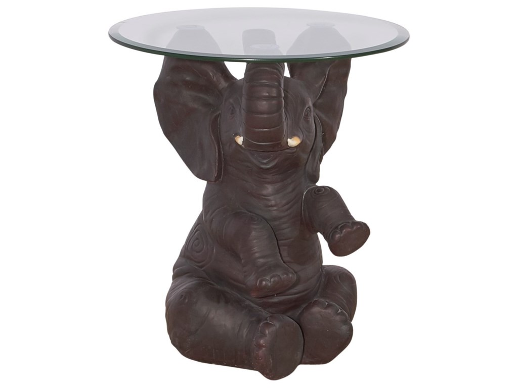 Powell Accent FurnitureErnie Elephant Side Table