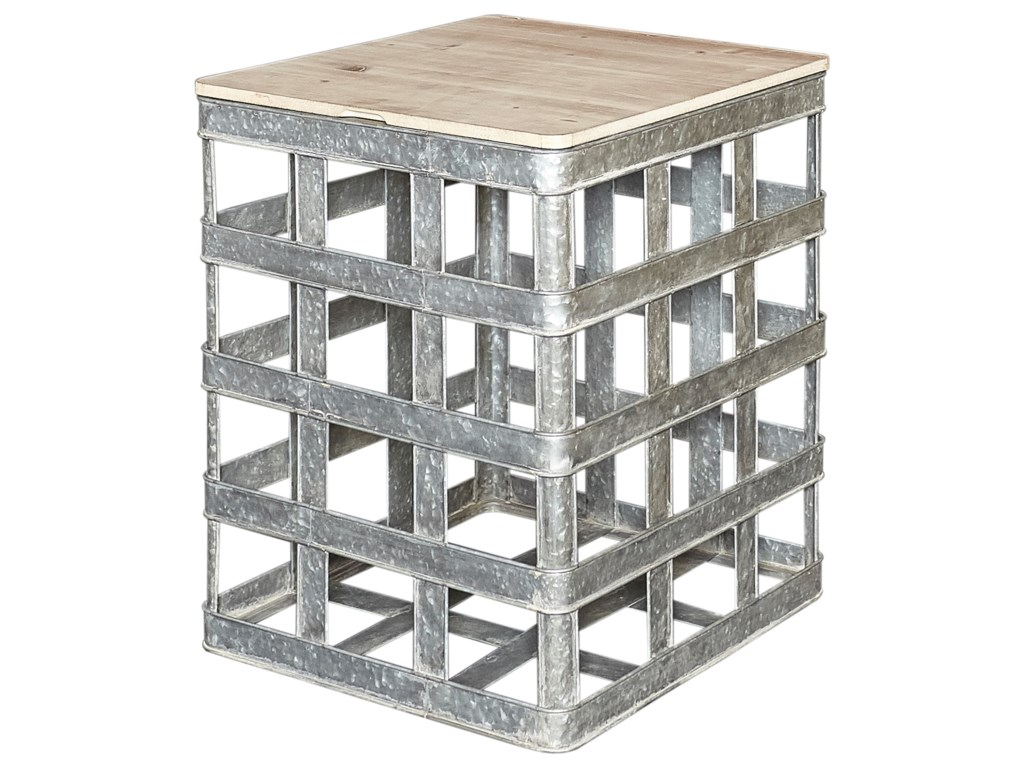Powell Accent FurnitureJayce Galvanized Side Table