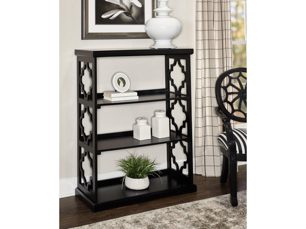 Powell Accent FurnitureConrad Medium Bookcase Black