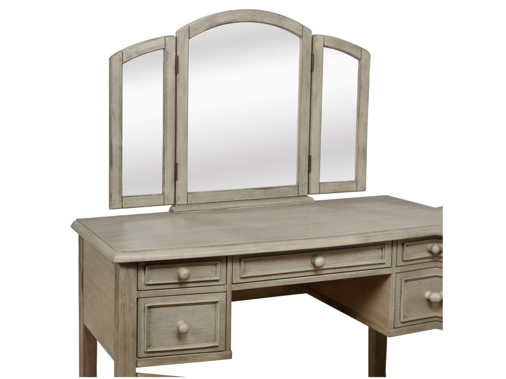 Powell KaraKara Vanity and Stool