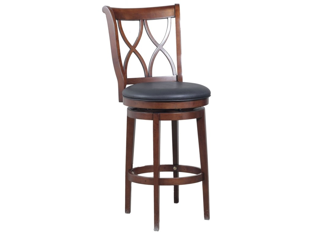 Powell Bar Stools & TablesCarmen Swivel Barstool