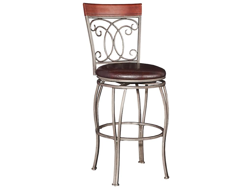 Powell Bar Stools Tables Bailey Big Tall Barstool Olindes