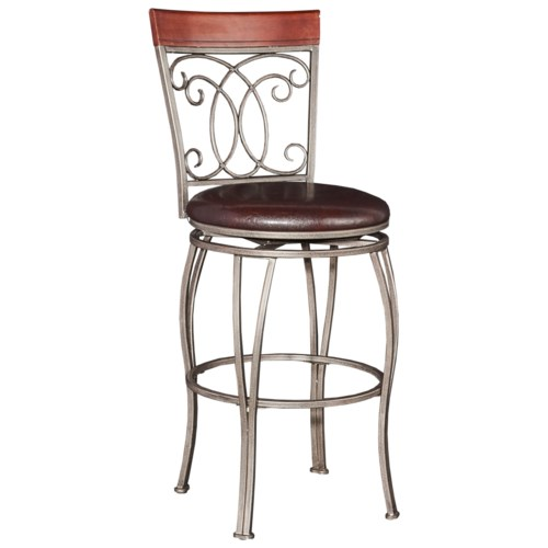 Powell Bar Stools Amp Tables Bailey Big Amp Tall Barstool