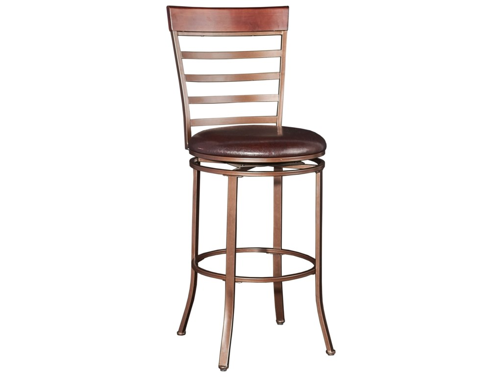 Powell Bar Stools & TablesMiller Big & Tall  Barstool