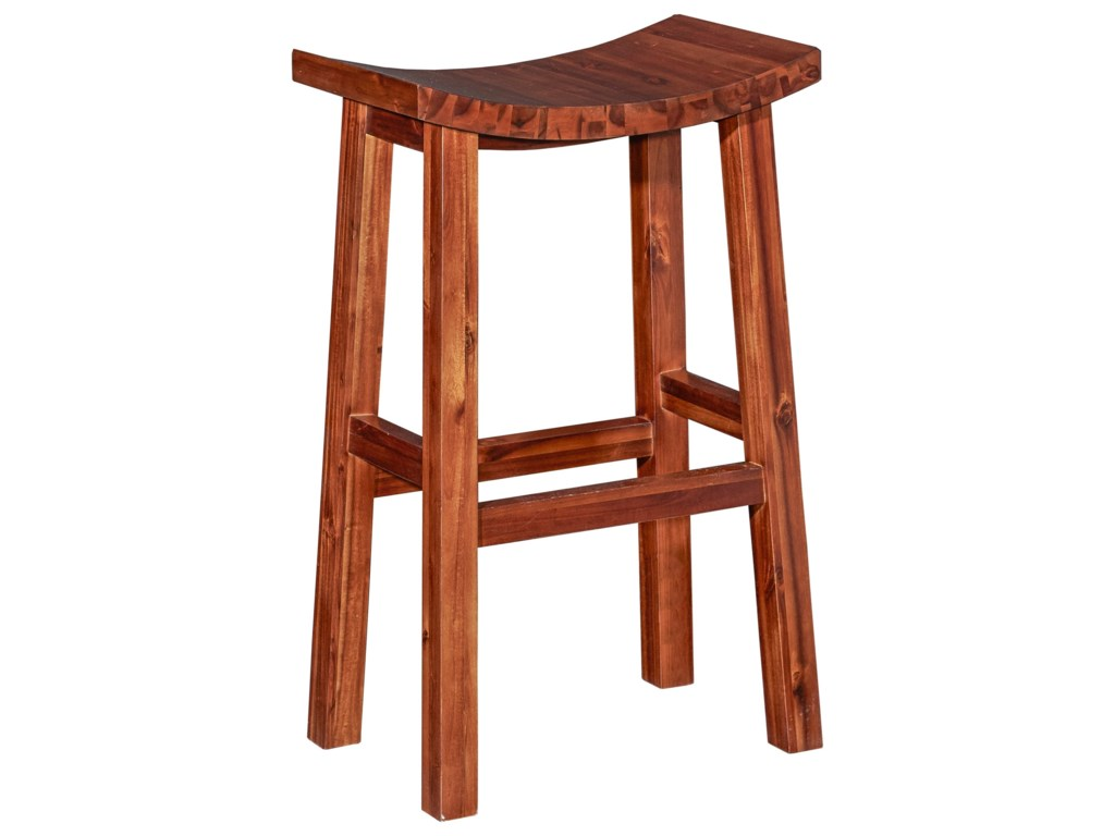 Powell Bar Stools & TablesCarmen Saddle Bar Stool