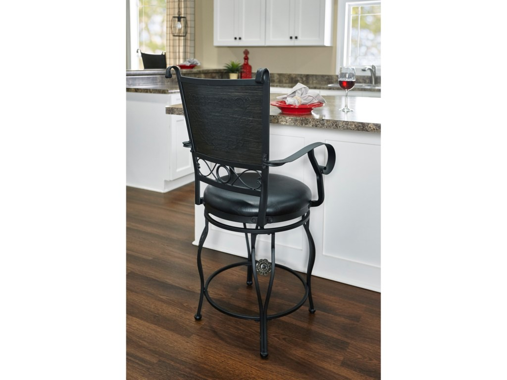 Powell Bar Stools & TablesEllie Big & Tall Counter Stool