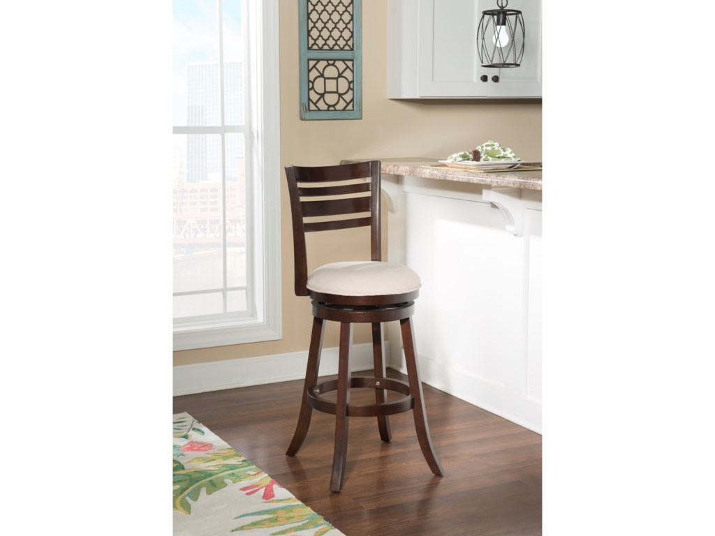 Powell Bar Stools & TablesTegan Espresso Barstool