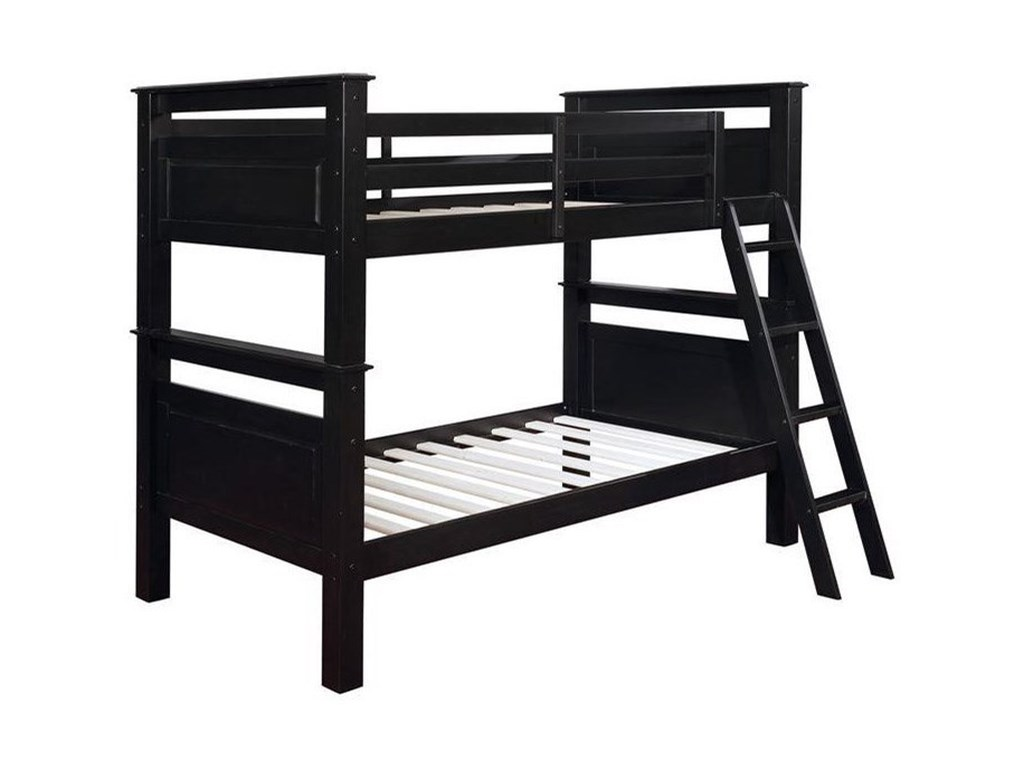 Powell BeckettTwin Over Twin Bunk Bed