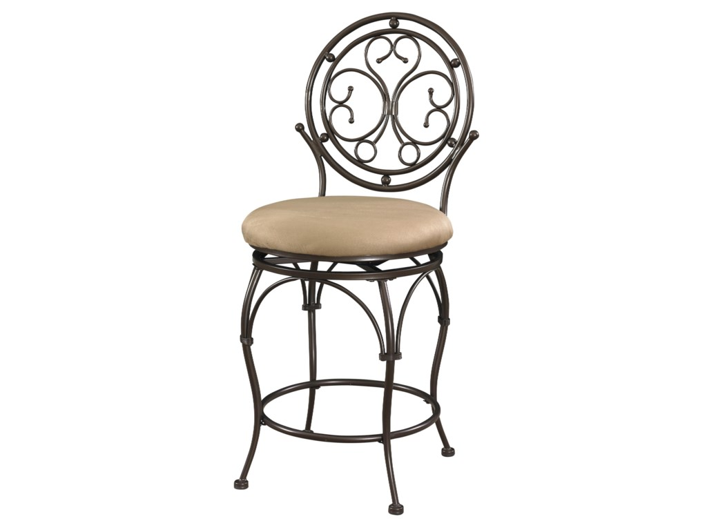 Powell Big and TallCircle Back Counter Stool