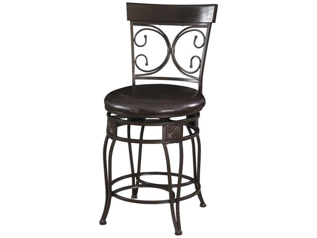 Powell Big and TallBack to Back Counter Stool