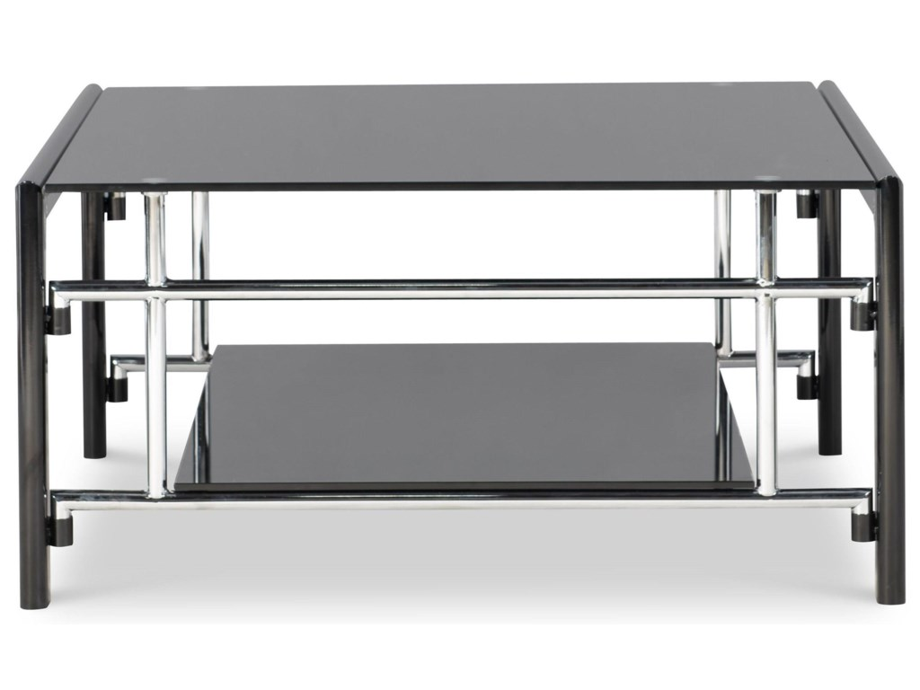 Powell BlackSquare Cocktail Table