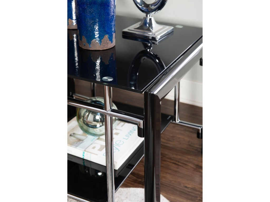Powell BlackEnd Table
