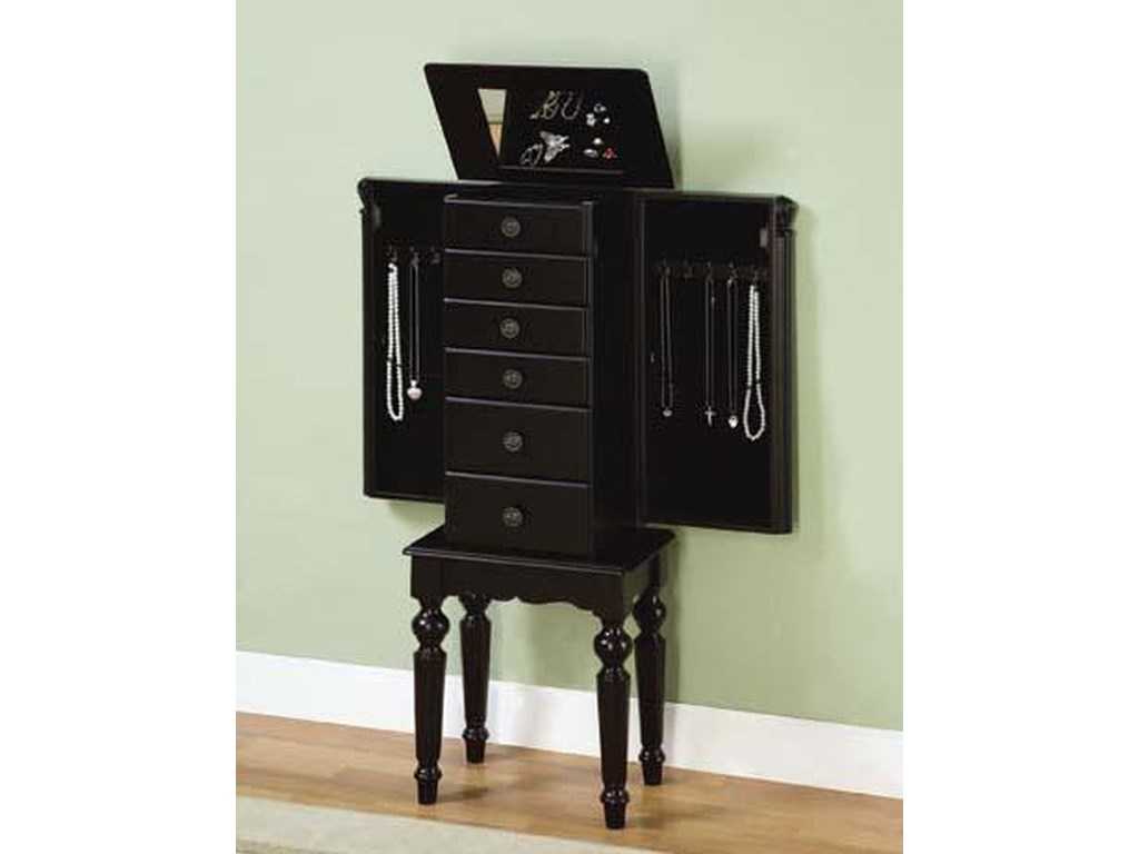 Powell BlackArmoire