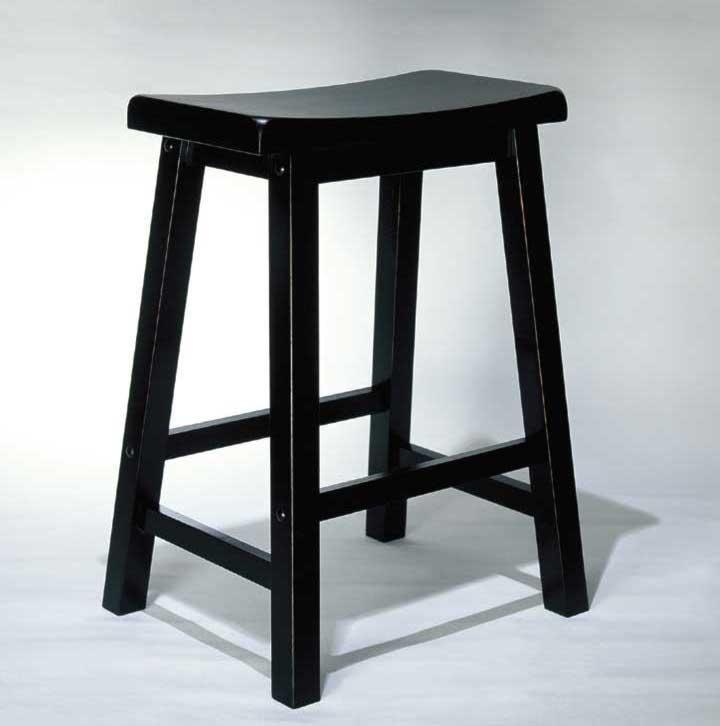 Powell Black 24 Inch Counter Stool Wayside Furniture Bar Stool