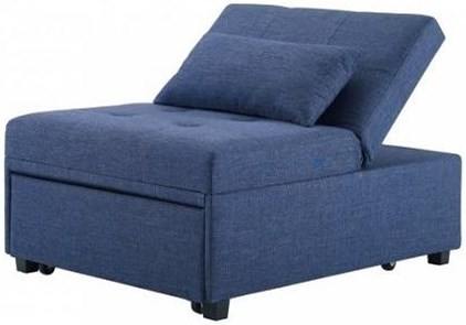 Powell Dozer Pullout Sleeper Chair With Tufted Seat