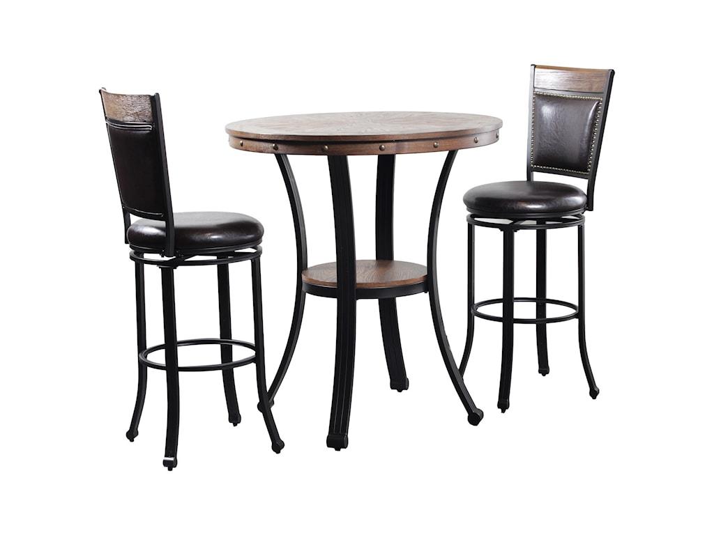 Powell FranklinFranklin Pub Table