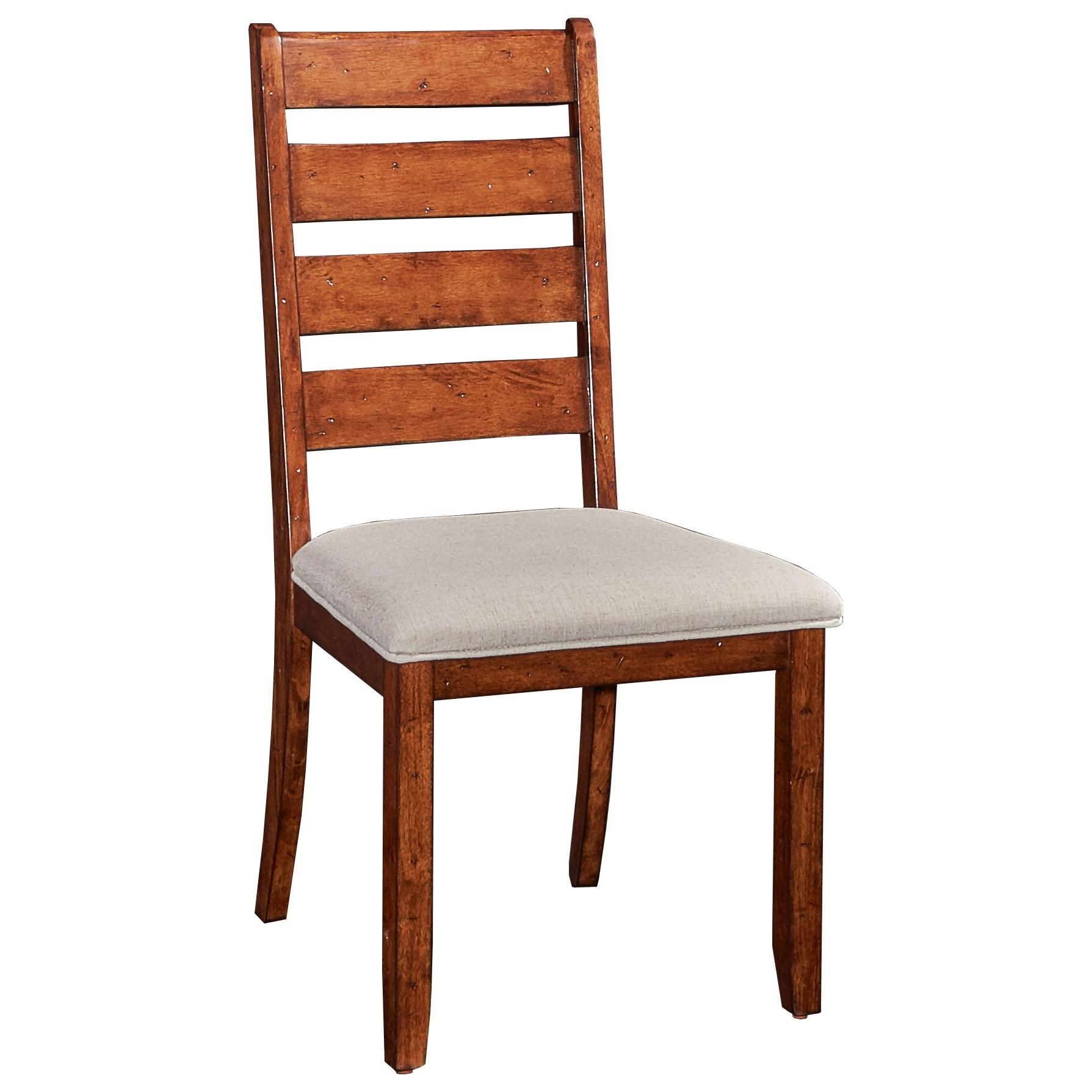 Powell Gavin Gavin Side Chair With Ladderback