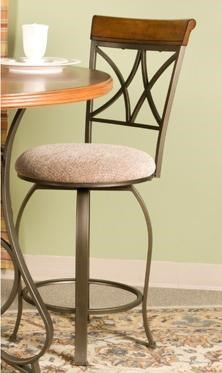 Powell Hamilton Swivel Counter Stool Wayside Furniture